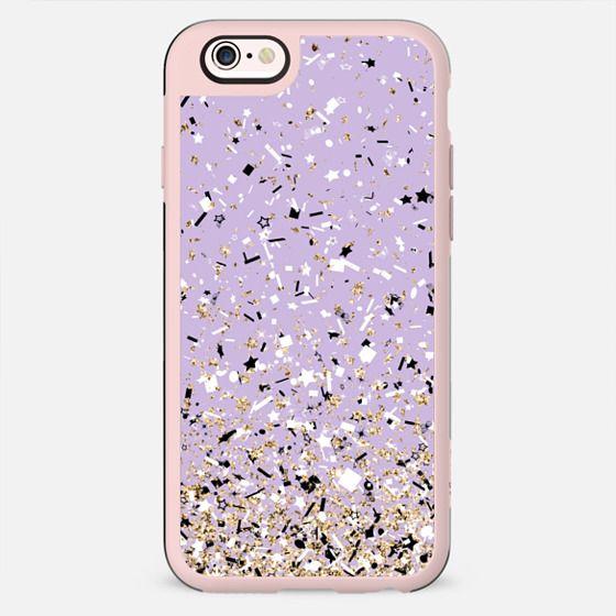Lilac Party Confetti Explosion