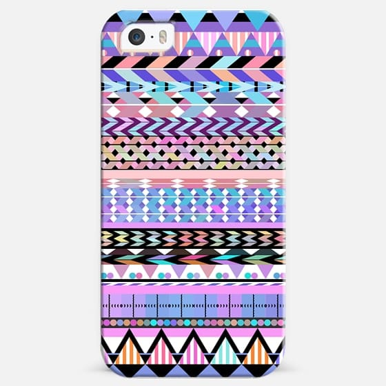 Girly Colorful Aztec Pattern -