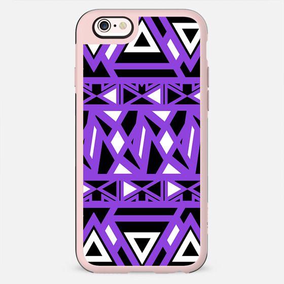 Purple Bold Tribal - New Standard Case