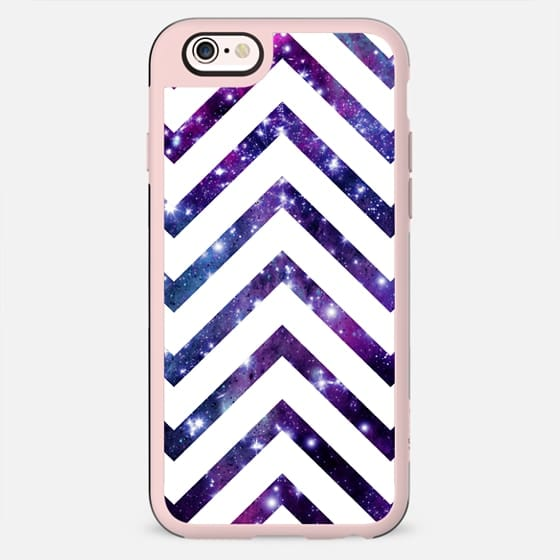 Galaxy White Chevron