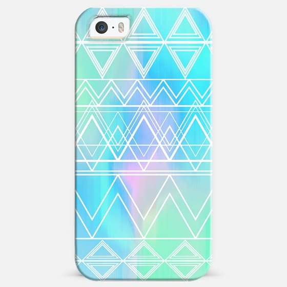 Turquoise Multicolor Tribal -