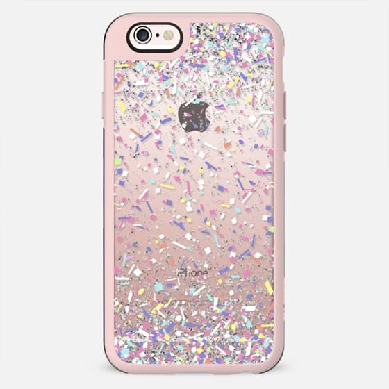 Pastel Candy Confetti Burst  - New Standard Case