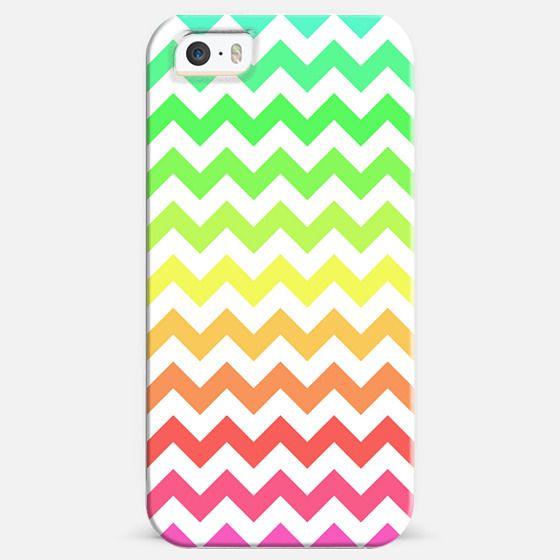 Colorful Ombre Chevron -