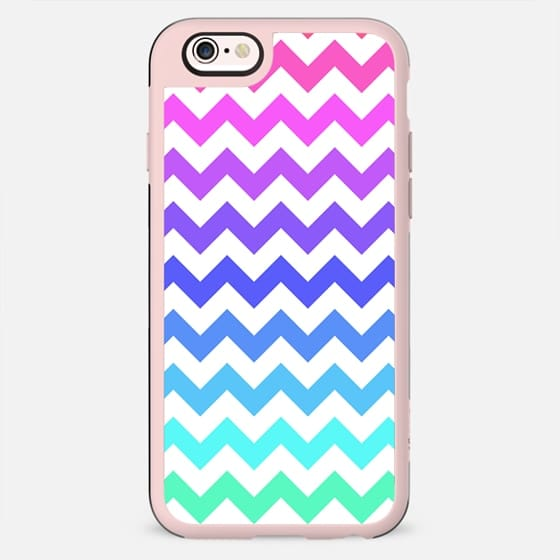 Bright Ombre Chevron - New Standard Case