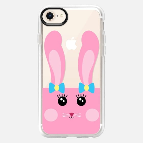 Cute Pink Bunny  - Snap Case