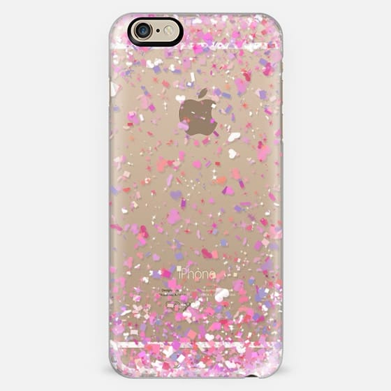 Love Confetti Explosion Transparent  -