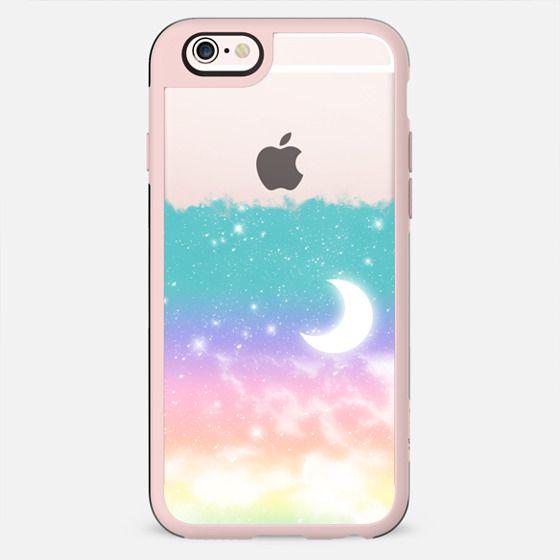 Pastel Dreamy Moonlight and Stars