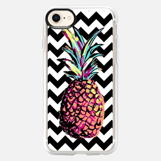 Party Pineapple Chevron - Snap Case