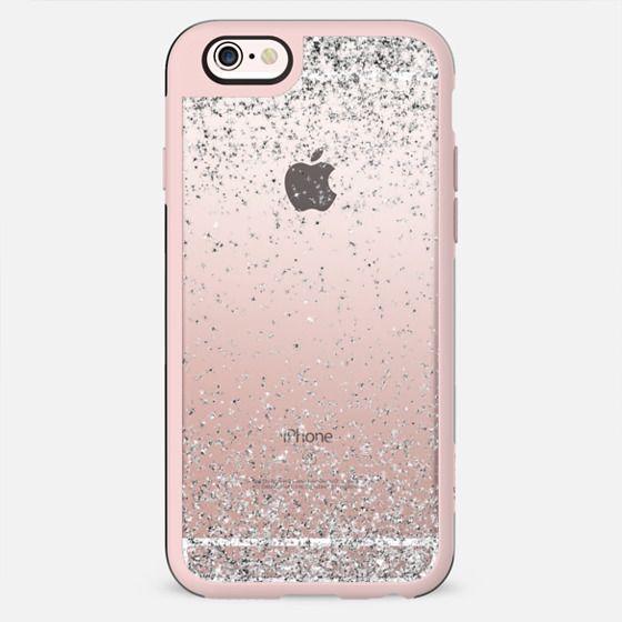 Silver Sparkly Glitter Burst  - New Standard Case