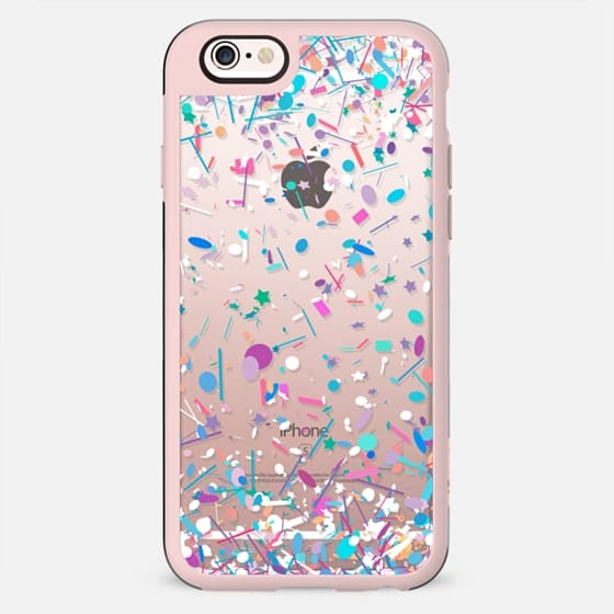 Girly Confetti Explosion Transparent