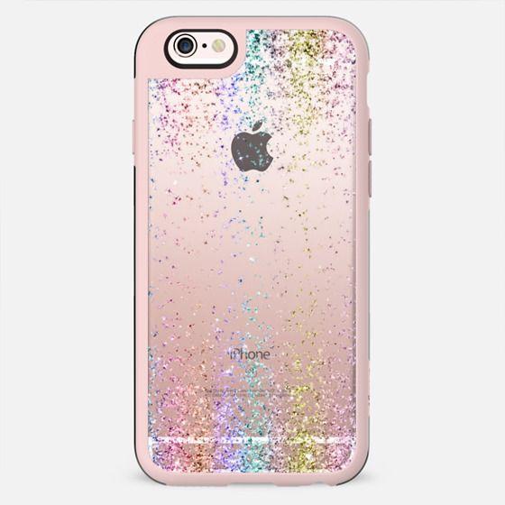 Rainbow Sparkly Glitter Burst  - New Standard Case