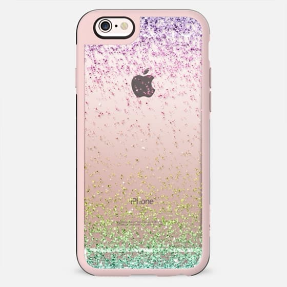 Colorful Ombre Sparkly Glitter Burst  - New Standard Case