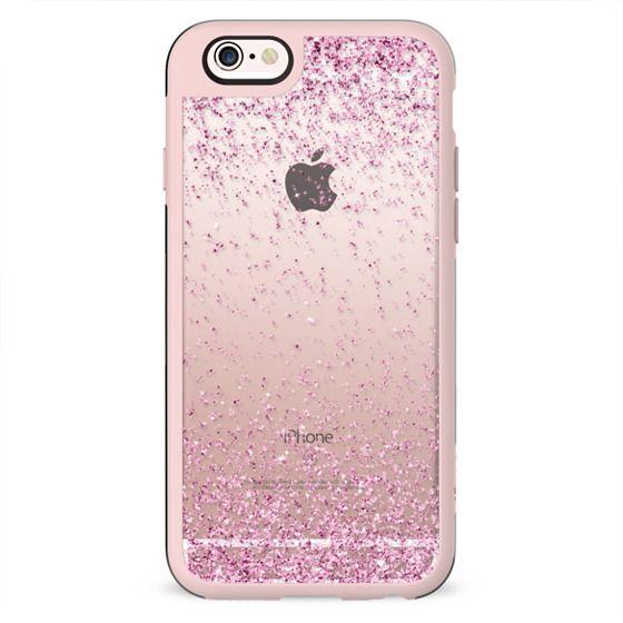 Pink Sparkly Glitter Burst