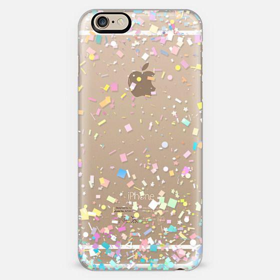 Pastel Confetti Explosion Transparent -