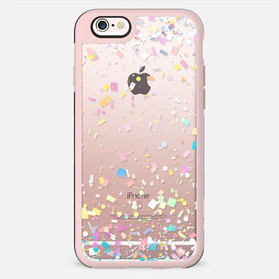 Pastel Confetti Explosion Transparent - New Standard Case