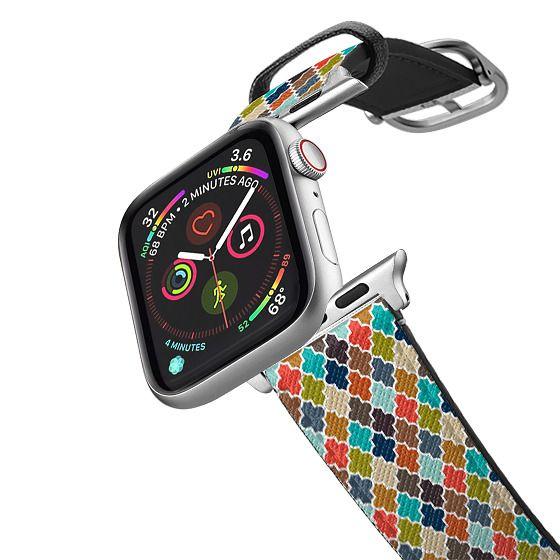 Apple Watch 38mm Bands - Earthy Quatrefoil