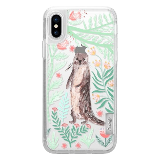Floral Otter by Papio Press