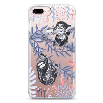 Snap iPhone 7 Plus Case - Two Sloths by Papio Press
