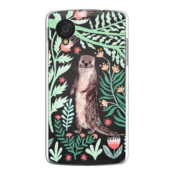 Nexus 5 Cases - Floral Otter by Papio Press