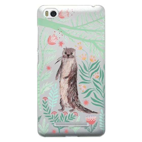 Xiaomi 4i Cases - Floral Otter by Papio Press