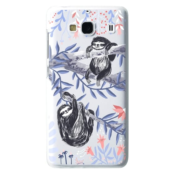 Redmi 2 Cases - Two Sloths by Papio Press