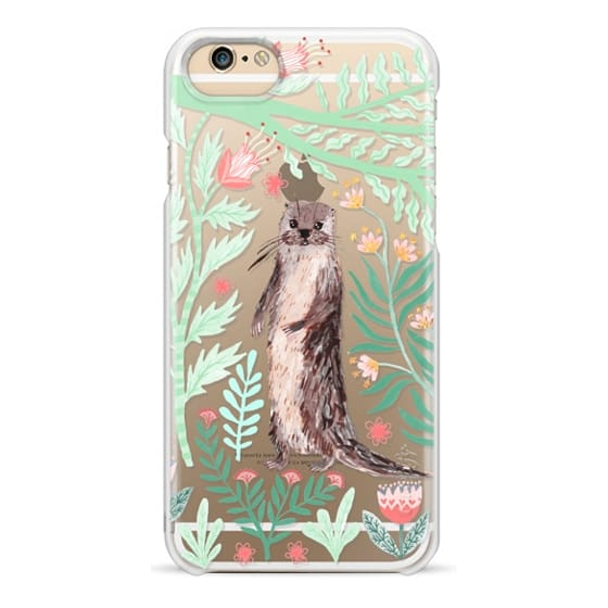 iPhone 6 Cases - Floral Otter by Papio Press