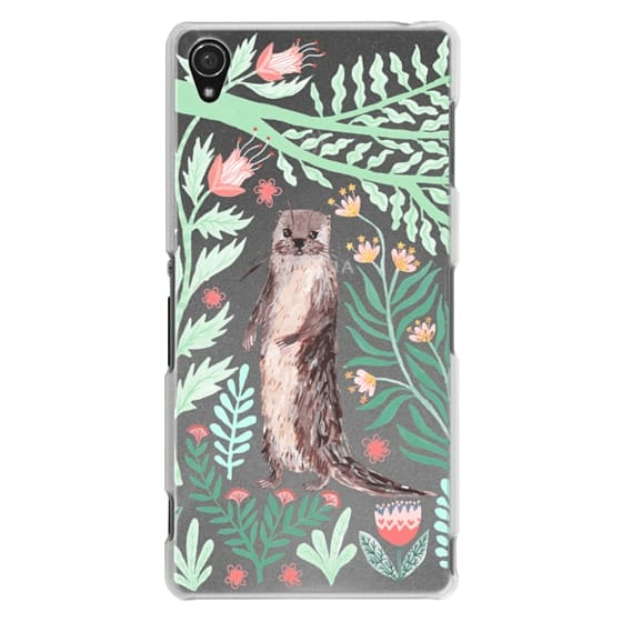 Sony Z3 Cases - Floral Otter by Papio Press