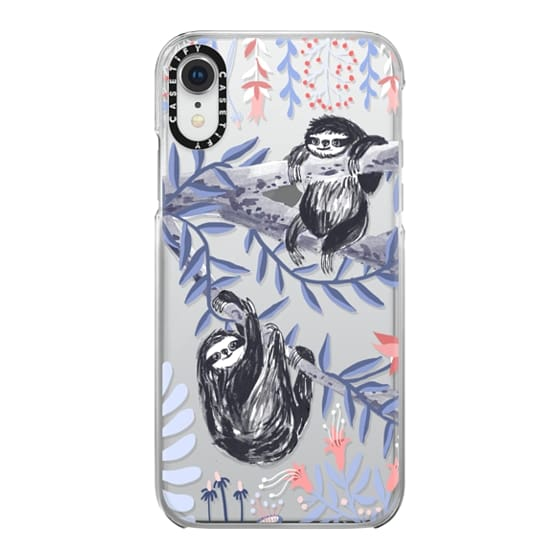 iPhone XR Cases - Two Sloths by Papio Press