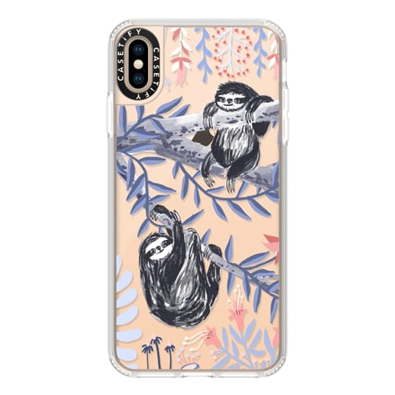 iPhone XS Max Cases - Two Sloths by Papio Press