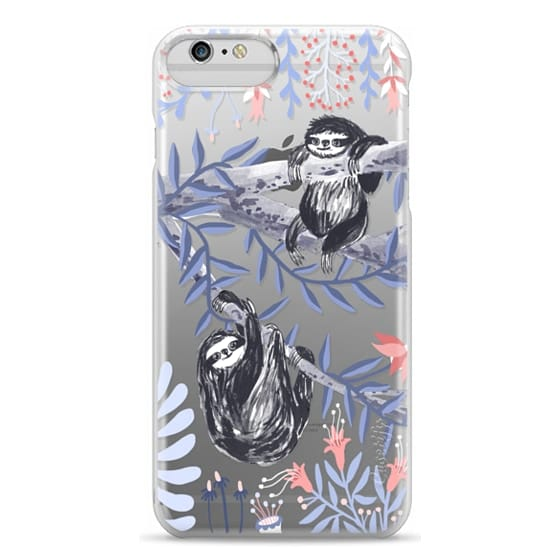 iPhone 6 Plus Cases - Two Sloths by Papio Press