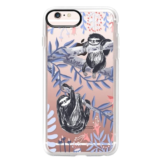 iPhone 6s Plus Cases - Two Sloths by Papio Press