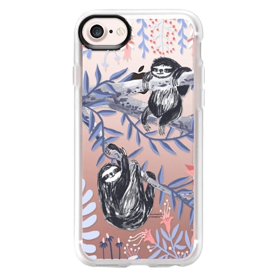 iPhone 7 Cases - Two Sloths by Papio Press