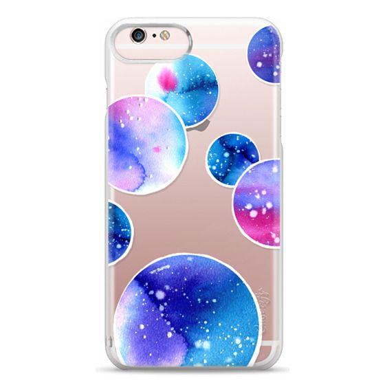 iPhone 6s Plus Cases - Watercolor space planets 3. Transparent.