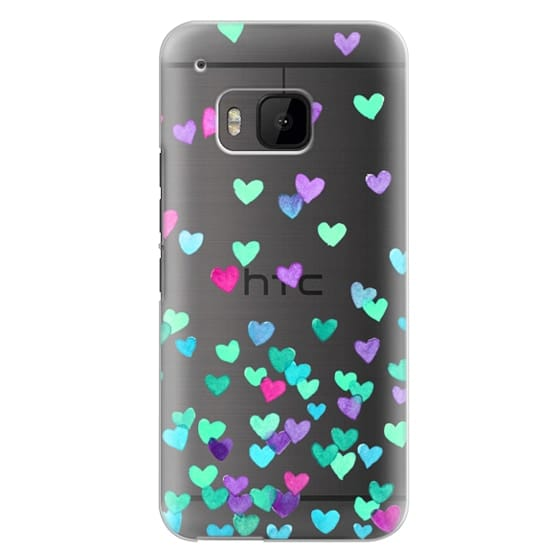 Htc One M9 Cases - Hearts3