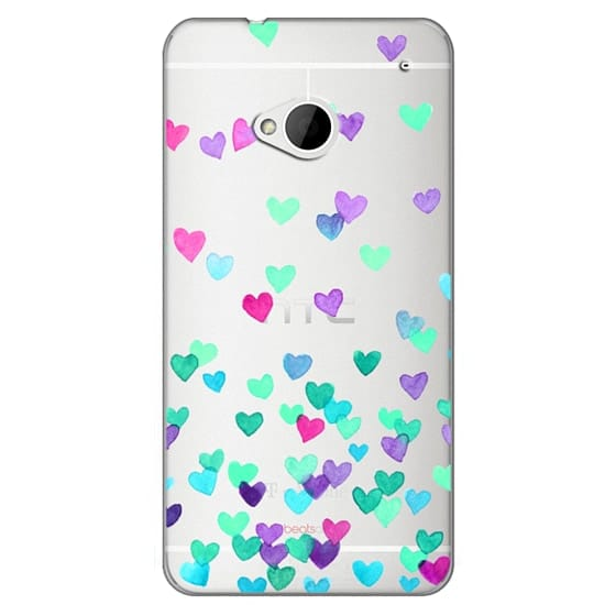 Htc One Cases - Hearts3