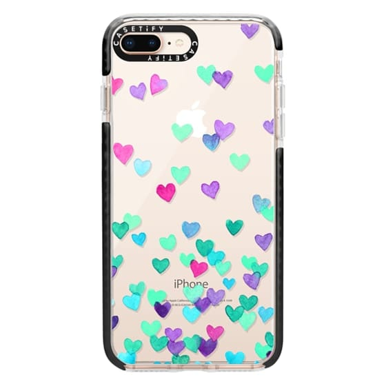iPhone 8 Plus Cases - Hearts3