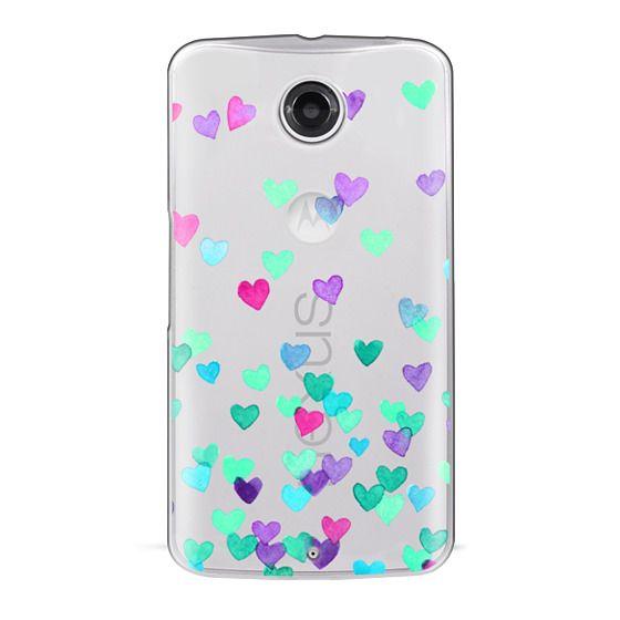 Nexus 6 Cases - Hearts3