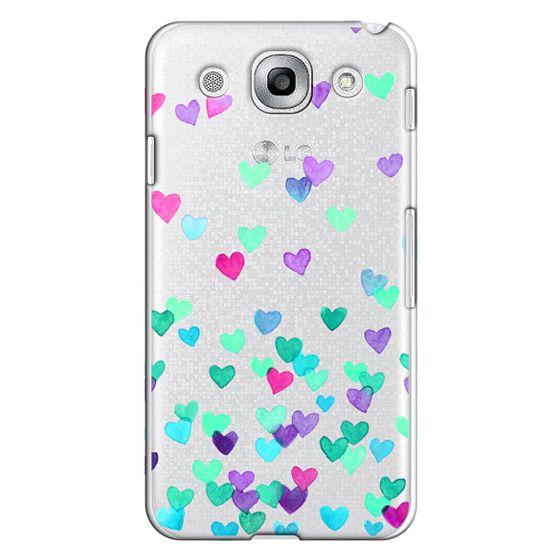 Optimus G Pro Cases - Hearts3