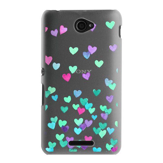 Sony E4 Cases - Hearts3
