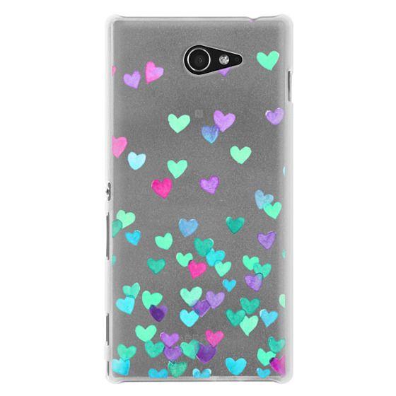 Sony M2 Cases - Hearts3