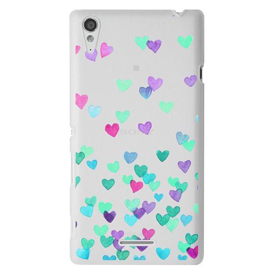 Sony T3 Cases - Hearts3
