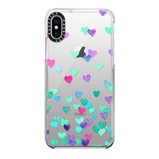 iPhone X Cases - Hearts3