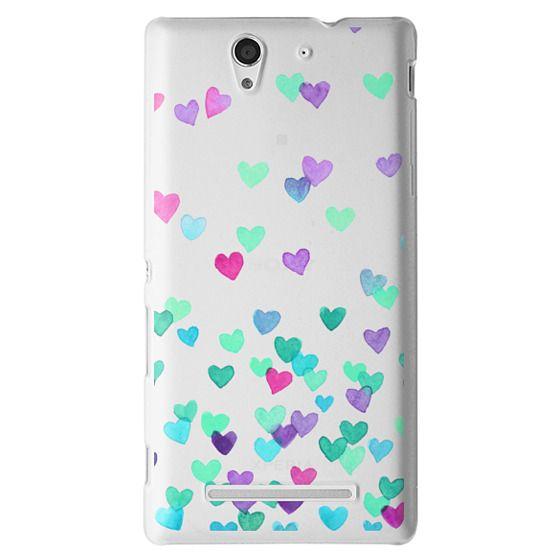 Sony C3 Cases - Hearts3