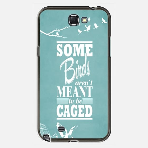 Some birds aren 39 t meant to be caged aqua casetify for Some birds aren t meant to be caged tattoo