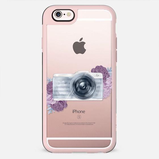 Photography Girl Transparent Fashion Illustration Camera Hobby Travel Kate Spade Bag Summer Pastel Blue Violet Purple