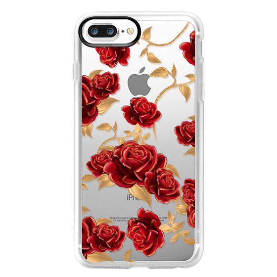 iphone 7 case red rose