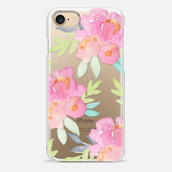 iPhone 7 Case Summer Watercolor Florals