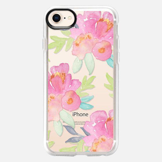 Summer Watercolor Florals - Snap Case