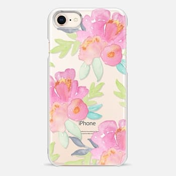 iPhone 8 Case Summer Watercolor Florals