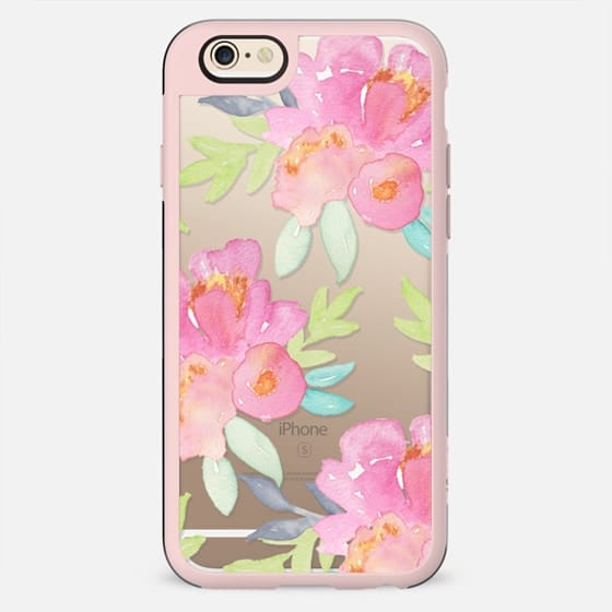 Summer Watercolor Florals - New Standard Case